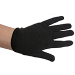 Child Black Costume Gloves