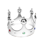 Royal Silver King Crown