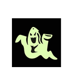 Glow In The Dark Ghost (Click Here)