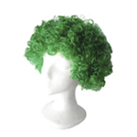 Economy Green Afro Wig