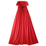 Fully Lined Deluxe Red Cape