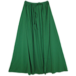 "28"" Child Green Cape"