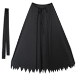 Child Black Superhero Cape Set