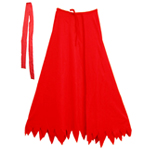 Child Red Superhero Cape Set