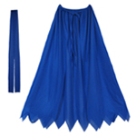 Child Blue Superhero Cape Set
