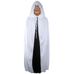 White Cloak with Large Hood