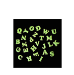 Glow In The Dark Letters (A to Z)