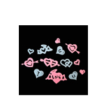 Glow In The Dark Hearts (Style B)
