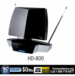 Indoor HDTV Antenna HD800 UHF/VHF/FM Reception