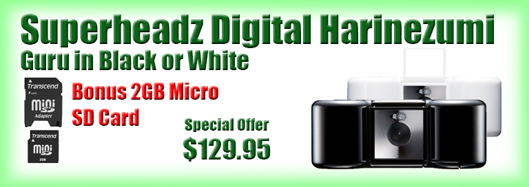 Digital Harinezumi GURU with FREE Micro SD Card