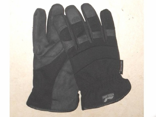 "2136-BKH ""WINTER HAWK"" HEATLOK&#153 LINED HEAVY DUTY-ARMOR SKIN&#153 SYNTHETIC LEATHER MECHANICS GLOVES W/SLIP ON WRIST"