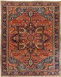 Traditional Antique Heriz Rug