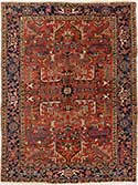 Red Antique Heriz Rug