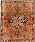 Important Antique Heriz Rug