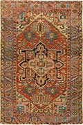 Early Antique Heriz Rug