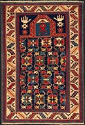 Prayer rug with hands - Shirvan Prayer Rug