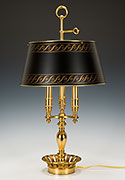 French Empire Bouillotte Table Lamp