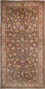 Antique Lavar Kerman Oriental Rug