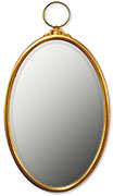 Oval Locket Mirror