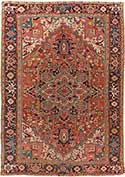 Persian Heriz Antique Carpet