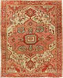 Classic Antique Serapi Carpet