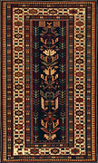 Shirvan rug Crab Border