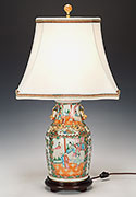 Antique Porcelain Lamp