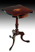 Inlaid Candlestand Table