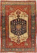 Antique Serapi Oriental Rug