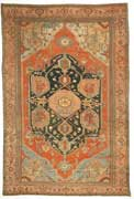 Classic Masterpiece Antique Serapi Rug