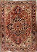 Serapi Persian Antique Rug
