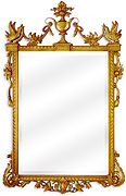 Gilded French Mirror