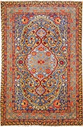 Antique Tabriz rug