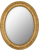 Traditional Oval Mirror