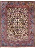 Antique Mashad Oriental Rug