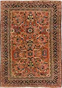 Antique Mahal Oriental Rug
