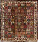 Antique Bakhtiari Garden Carpet
