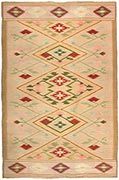 Antique Swedish Kilim
