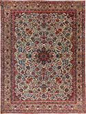 Antique Kashan Oriental Rug