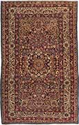 Classic Antique Lavar Kerman Carpet