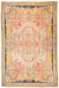 French Savonnerie Antique Rug