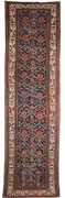 Antique Malayer Runner Oriental Rug