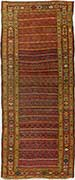 Antique Kurdish Oriental Rug