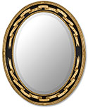 Oval Regency Mirror