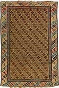 Antique Kuba Caucasian Rug