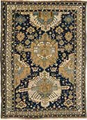 Antique Seychour Oriental Rug