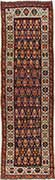 Antique Kazak Oriental Runner