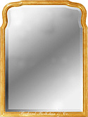 Traditional Queen Anne Mirror