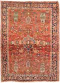 Antique Sarouk Feraghan Rug