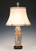 Antique Porcelain Lamps